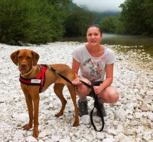 Elena von Doggiepack mit Bootsmann